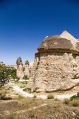 Cappadocia, Turkey. Scenic pillars of weathering in the Pashabag Valley  (Monks Valley) — Stock Photo