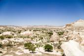 Cappadocia, Turkey. Beautiful mountain landscape in the Valley of Monks (Pashabag Valley) — Stock Photo