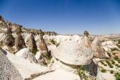 Cappadocia, Turkey. Pillars of weathering in the Pashabag Valley (Valley of the Monks) — Stock Photo