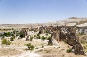 "Cappadocia, Turkey. ""Mushroom"" place in the Pashabag Valley (Monks Valley) — Stock Photo"