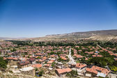 Urgup, Turkey. View of the modern town — Stock Photo