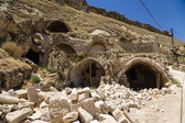 Turkey, Urgup. Houses - caves of the old town — Stock Photo