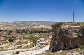 Urgup, Turkey. View of the city — Stock Photo