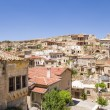 Cappadocia, Turkey. View of the old Urgup town on a rock — Stock Photo #62331429