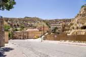 CAPPADOCIA, TURKEY - JUN 25, 2014: Photo of street in the Urgup 'cave town' — Stock Photo