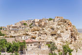 Cappadocia, Turkey. Home-caves in the old Urgup — Stock Photo