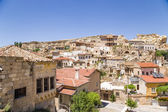 Cappadocia, Turkey. View of the old Urgup town on a rock — Stock Photo