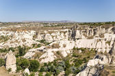 Cappadocia, Turkey. The picturesque Valley of Pigeons with pillars of weathering — Stock Photo