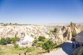 CAPPADOCIA, TURKEY - JUN 25, 2014: Photo of Open-Air Museum in Goreme National Park — Foto de Stock