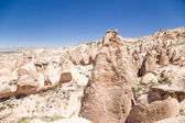 Turkey, Cappadocia. Pillars of weathering (rock outcrops) in the Devrent  Valley — Stock Photo