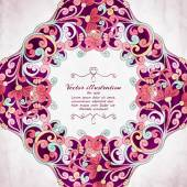 Elegant Indian ornamentation background. — Vettoriale Stock