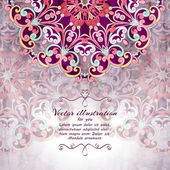 Elegant Indian ornamentation background. — Wektor stockowy