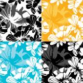 Elegant Seamless floral pattern — Stock Vector