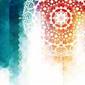 Bright iridescent background — Stock Vector