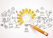 理念与业务图标加载 — 图库矢量图片