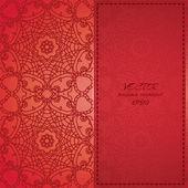 Elegant Indian ornamentation — Stock Vector
