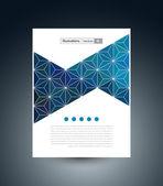 Fondo abstracto geométrico con polígonos — Vector de stock
