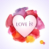 Valentine Day Heart — Stock Vector
