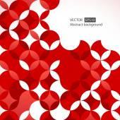 Kırmızı modern geometrik arka plan — Stok Vektör