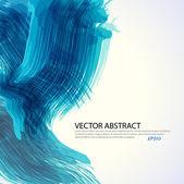 Blue stroke background — Stock Vector