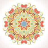 Lace mandala illustration. — Stock Vector