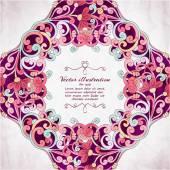 Elegant Indian ornamentation background. — Stock Vector