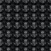 Seamless pattern of black diamonds — Stock Vector
