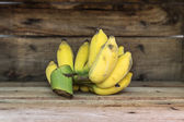 Cultivated Bananas — Stock Photo