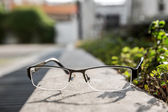 Old Vintage spectacles — Stock Photo