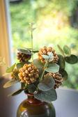 Dekorasyon yapay kahve çekirdekleri — Stok fotoğraf