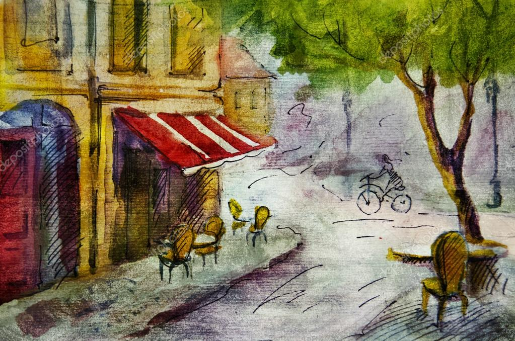 French Kitchen Paintings