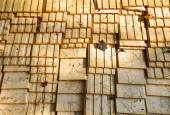 The closeup of wooden boards — 图库照片