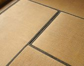 The close view of Japanese Tatami mat — Stock Photo