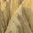 The close view of badland formations — Stock Photo #65572419