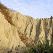 The close view of badland formations — Stock Photo #65572447