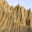 The close view of badland formations — Stock Photo #65572487