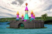 Children's Island — Stock Photo