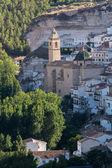 Church of San Andres. Alcala Del Jucar. Albacete. Spain — 图库照片