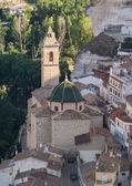 Church of San Andres. Alcala Del Jucar. Albacete. Spain — Stock Photo