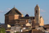 Church of the Nativity. Alborea. Albacete. Spain — Stock Photo