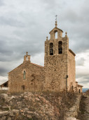 Church of Santa Maria La Mayor. Moya. Cuenca. Spain — Stock Photo