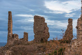 Ruins of Castle Moya. Cuenca. Spain — Stock Photo