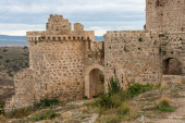 Castle Moya. Cuenca. Spain — Stock Photo