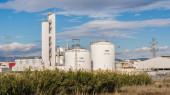 Deposits of nitrogen and oxygen — Stock Photo