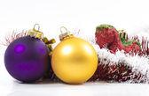 Los juguetes de navidad — Foto de Stock