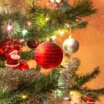 Beautiful glass balls on Christmas Tree — Stock Photo #57000253