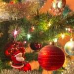 Beautiful glass balls on Christmas Tree — Stock Photo #57000419