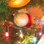 Beautiful glass balls on Christmas Tree — Stock Photo #57000479