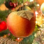 Beautiful glass balls on Christmas Tree — Stock Photo #57000725