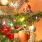 Beautiful glass balls on Christmas Tree — Stock Photo #57000871